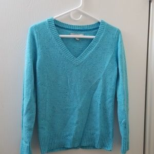 Old Navy Blue Vneck Sweater